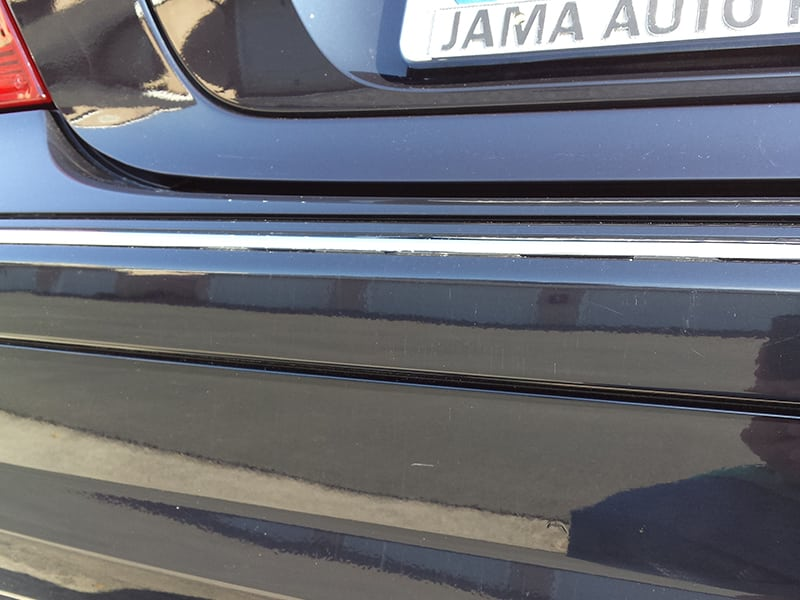 paint correction after